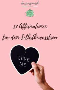 57 Affirmationen für dein Selbstbewusstsein-Pinterest