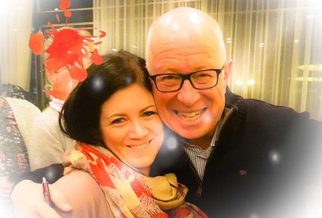Nadine Schadt und Robert Betz im März 2019 in Stuttgart
