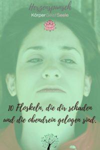 10 Floskeln die dir schaden und die obendrein gelogen sind-Pinterest