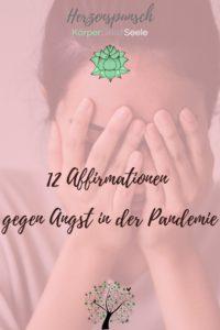 12 Affirmationen gegen Angst in der Pandemie-Pinterest